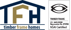 Wexford Timber Frame Homes Ltd., Ireland | Builders Wexford | Passive Home | Air Tightness Logo